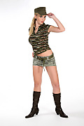 Chikita Commando attack istripper model