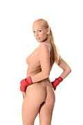 Melody Powers Kick Boxer istripper model