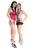 Tifany & Niky Duo istripper model