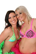 Niki Sweet & Iris Duo istripper model