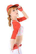 Anny Aurora Play Ball istripper model