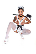 Skin Diamond Your orders, Sir? istripper model