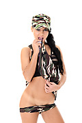Apolonia Army Brat istripper model