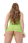 Alessandra Jane Lime Treat istripper model